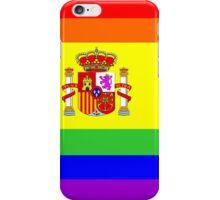 gay flag spain iPhone Case/Skin