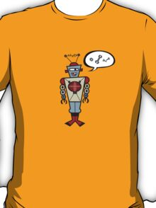 Robot Talking Nuts & Bolts T-Shirt