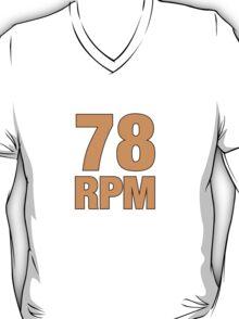 78 RPM  Orange T-Shirt
