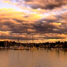Storm Clouds - Newport Marina - The HDR Series by Philip Johnson