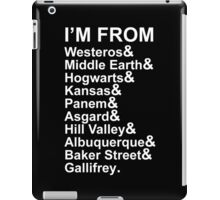 I'M FROM iPad Case/Skin