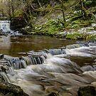 Ashgill Waterfalls - Alston Moor by David Lewins