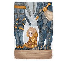 Joan of Arc - deafeat Photographic Print