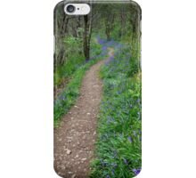 Along the Bluebell Path iPhone Case/Skin