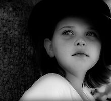Girl in a Black Hat by Rachel Leigh