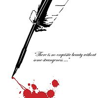 Edgar Allan Poe - Beauty and Strangeness by pithypenny