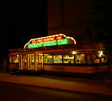 Mickey's Diner 2 by Tom  Reynen
