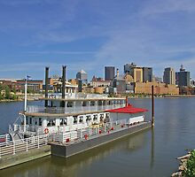 St Paul Riverboats by Tom  Reynen