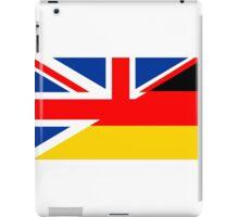 uk germany flag iPad Case/Skin