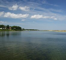 Ogunquit Beach Inlet by RCRimagery
