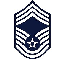 Air Force Chief Master Sergeant - E9 Photographic Print