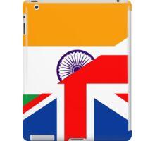 uk india flag iPad Case/Skin