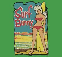 Surf Bunny Retro Vintage  by 2monthsoff
