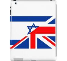 uk israel flag iPad Case/Skin