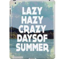 Lazy Hazy Summer iPad Case/Skin