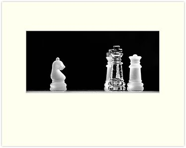 Chess 4: All men lost by Lenka