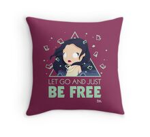 Prismatic: #UNCONDITIONALLY Throw Pillow