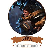 League Of Legends - Garen by TheDrawingDuo
