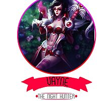 League Of Legends - Vayne by TheDrawingDuo