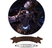 League Of Legends - Orianna by TheDrawingDuo