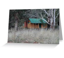 Old Cottage - Sofala NSW Greeting Card
