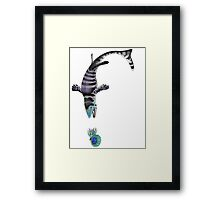In Pursuit of Hardened Prey Framed Print