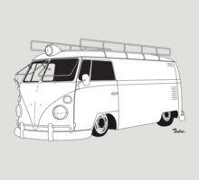 VW Type 2 Panel Van by Tedri