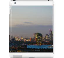 London, skyline from Greenwich iPad Case/Skin