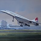 Concorde by defineart