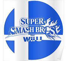 Super Smash Bros. For Wii U Poster