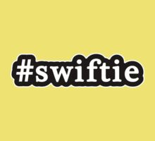 Swiftie - Hashtag - Black & White Kids Clothes