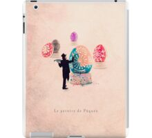 The Easter painter iPad Case/Skin