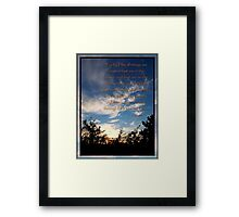 One Creator Framed Print