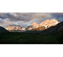 Swiss impression with mountains Photographic Print