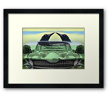 TwoCrownCar Framed Print