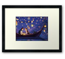 Disneys Tangled Framed Print