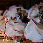 folk dance - baile folclorico  by Bernhard Matejka