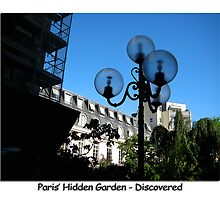 Paris Series 06 Hidden Garden. by Keith Richardson