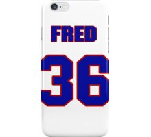 National baseball player Fred Cambria jersey 36 iPhone Case/Skin
