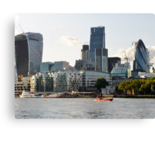 City of London original Canvas Print