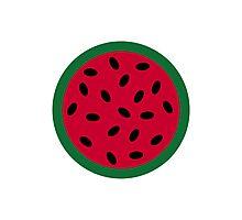 Melon Watermelon Photographic Print