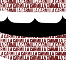 carmilla fangs Sticker