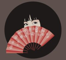 Geisha with Fan by Graham Bliss