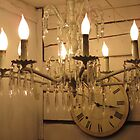 Chandelier At Country Roads Antiques by SizzleandZoom