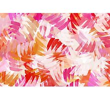 Abstract Paint Pattern Photographic Print