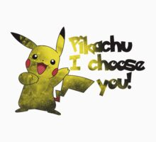 Pikachu - I Choose You! by TumblrVerse