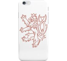 Czech State Military Aircraft Marking  iPhone Case/Skin