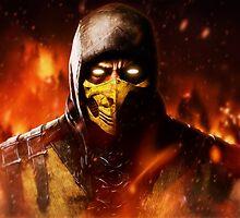 Mortal Kombat - Scorpion by Addemdial