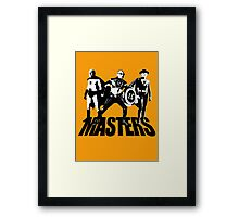 Masters Of Architecture T-Shirt Framed Print