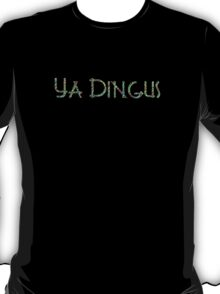 YA DINGUS Neon Jungle Variant Dr. Steve Brule Design by SmashBam T-Shirt